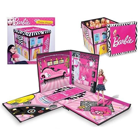 Necotoys Barbie'Nin Rüya Evi Ve Bebek Kutusu Oyun Seti Renkli